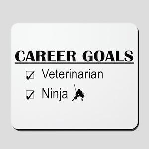 Veterinarian Career Goals Mousepad