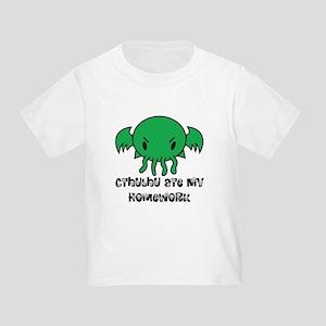 Cthulhu Ate My Homework Toddler T-Shirt