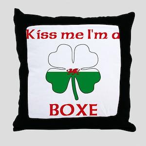 Boxe Family Throw Pillow