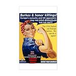 Shove Your Sharia Rectangle Sticker
