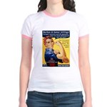 Shove Your Sharia Jr. Ringer T-Shirt