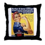 Shove Your Sharia Throw Pillow