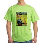 Shove Your Sharia Green T-Shirt