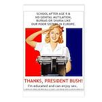 Thanks, President Bush! Postcards (Package of 8)