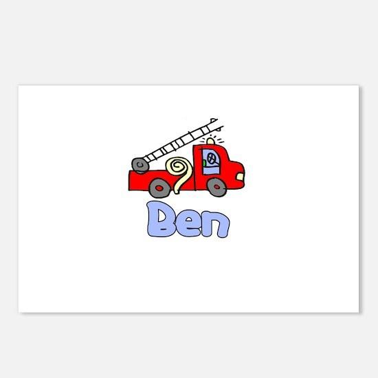 Ben Postcards (Package of 8)
