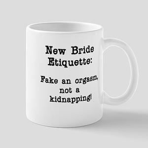 Runaway Bride Etiquette Mug