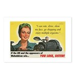 You Lose, Sister! Postcards (Package of 8)