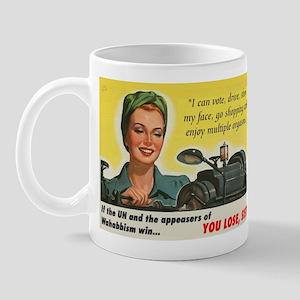 You Lose, Sister! Mug