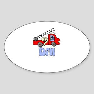 Bill Oval Sticker