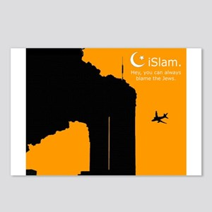 Yellow Postcards (Package of 8)