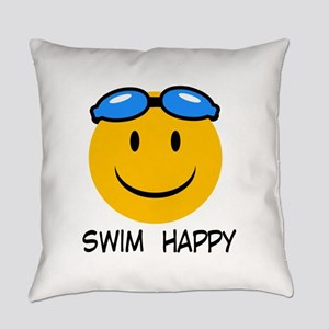 swimming Everyday Pillow