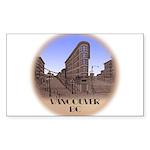 Vancouver Gastown Souven Sticker (Rectangle 10 pk)