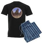 Vancouver Gastown Souvenir Men's Dark Pajamas