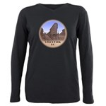 Vancouver Gastown Souven Plus Size Long Sleeve Tee
