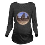 Vancouver Gastown So Long Sleeve Maternity T-Shirt