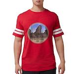 Vancouver Gastown Souvenir Mens Football Shirt