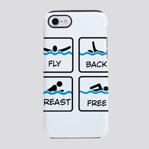swimming iPhone 8/7 Tough Case