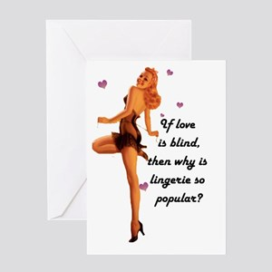 X rated greeting cards cafepress pin up valentine greeting card m4hsunfo