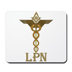 Masonic LPN Symbol Mousepad