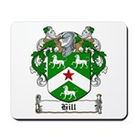 Hill Family Crest Mousepad