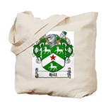 Hill Family Crest Tote Bag