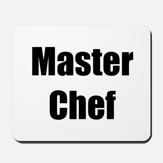 Master Chef Mousepad