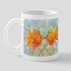Kissing Fish Regular Mug