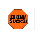 Leukemia Sucks Postcards (Package of 8)