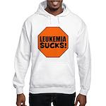 Leukemia Sucks Hooded Sweatshirt