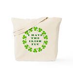 Irish Flu Tote Bag