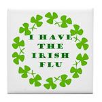 Irish Flu Tile Coaster