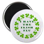 Irish Flu Magnet