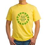 Irish Flu Yellow T-Shirt