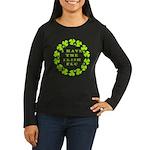 Irish Flu Women's Long Sleeve Dark T-Shirt