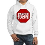Cancer Sucks Hooded Sweatshirt