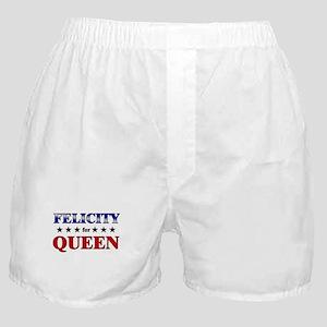 FELICITY for queen Boxer Shorts
