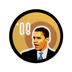 Big Barack Obama '08 Bullseye Button
