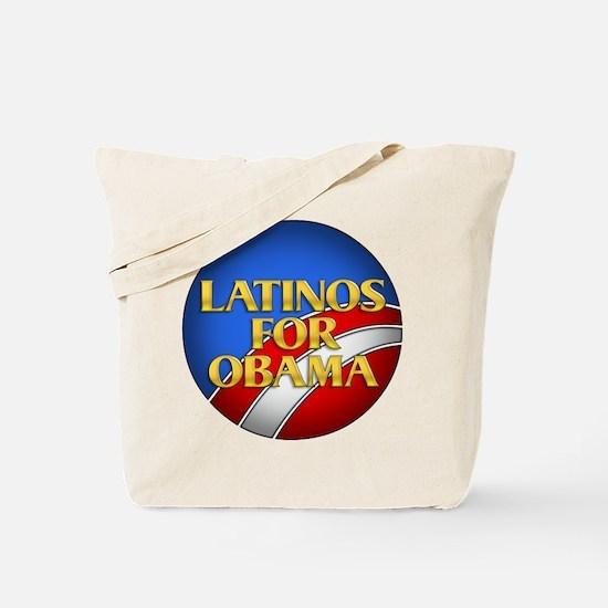 Latinos For Obama Tote Bag