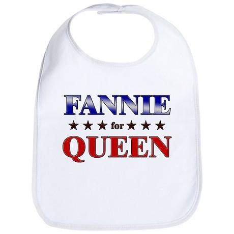 FANNIE for queen Bib