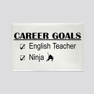 English Teacher Career Goals Rectangle Magnet