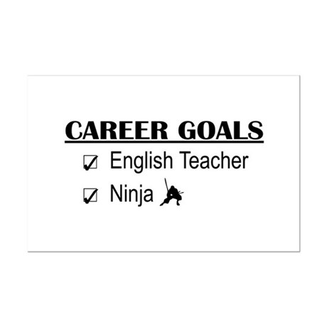 English Teacher Career Goals Posters by poor_richards