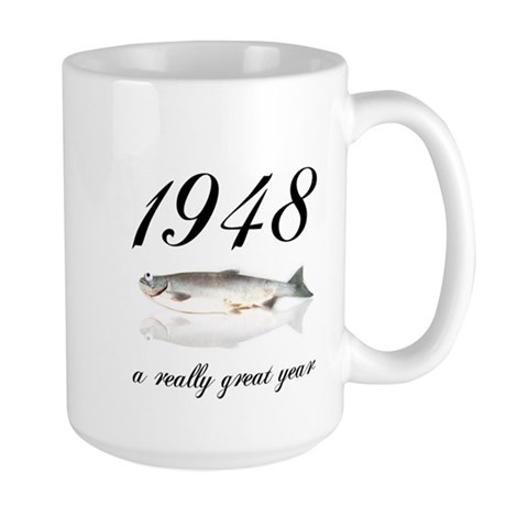 1948, 60th Birthday Large Mug
