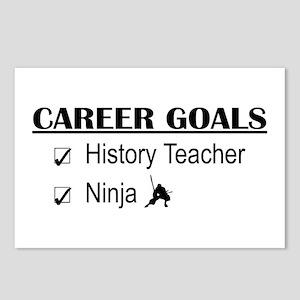 History Tchr Career Goals Postcards (Package of 8)