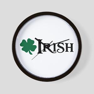 Irish v4 Wall Clock
