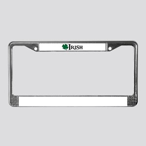 Irish v4 License Plate Frame