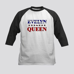 EVELYN for queen Kids Baseball Jersey