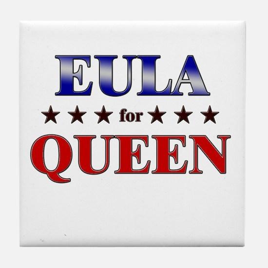 EULA for queen Tile Coaster