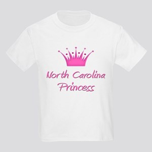 North Carolina Princess Kids Light T-Shirt