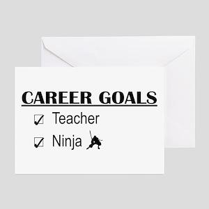 Teacher Career Goals Greeting Cards (Pk of 10)
