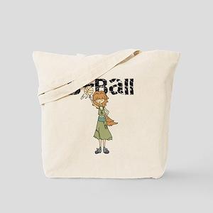Teen Girl Basketball Tote Bag